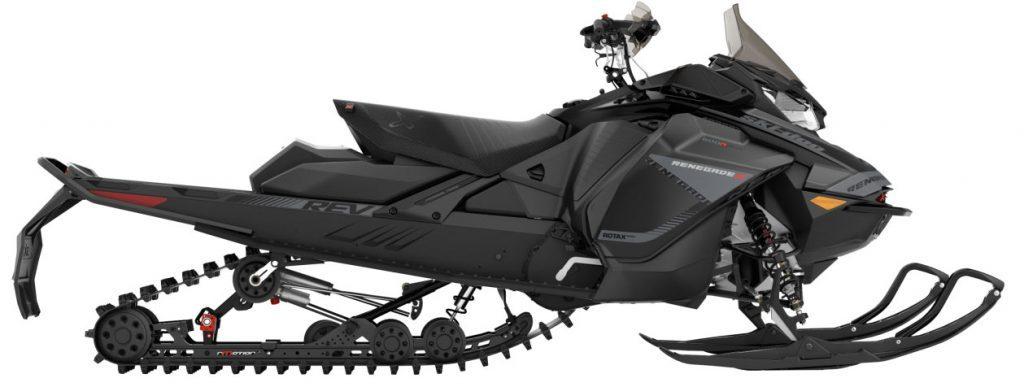 ski doo renegade X 600R E TEC side